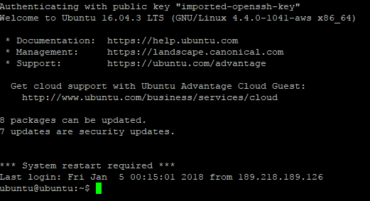 connect to ec2 instance ssh16