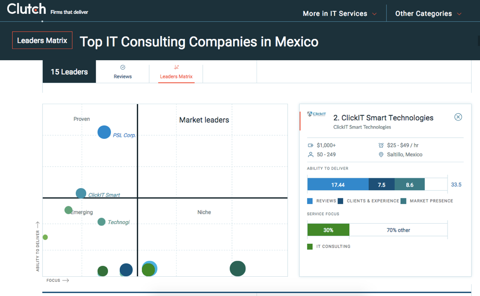 Top IT Consulting Companies in Mexico